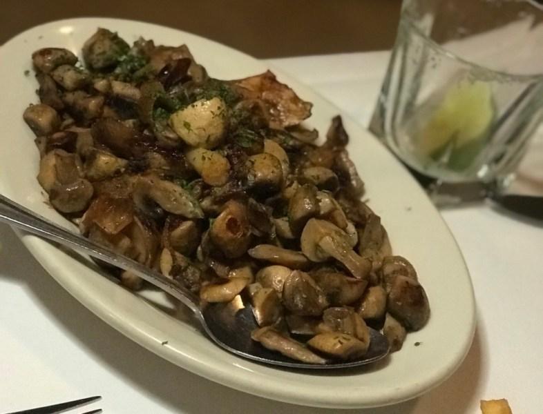 Wolfgang's Steakhouse Miami, Sauteed Mushrooms