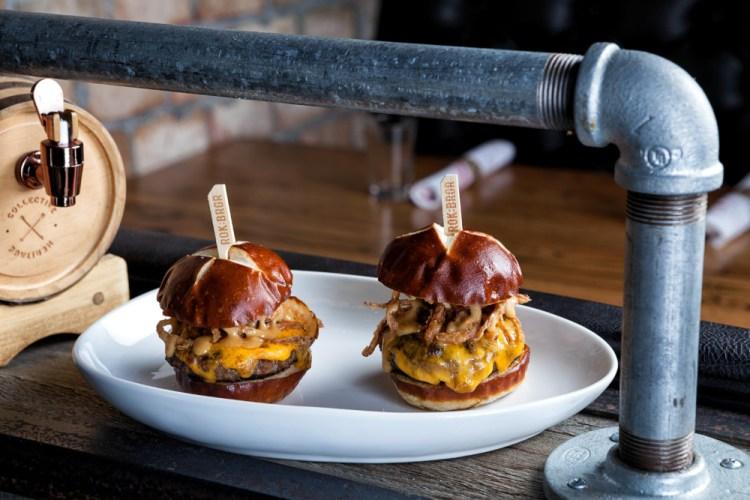 ROK:BRGR Mini Burgers