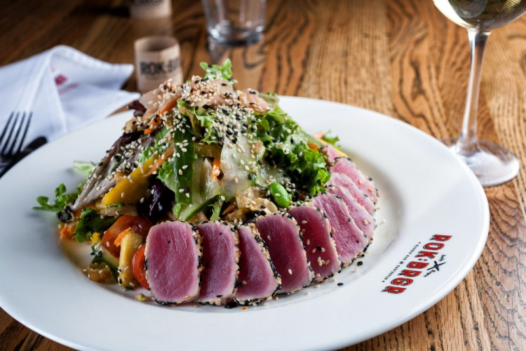 ROK:BRGR Ahi Tuna Salad