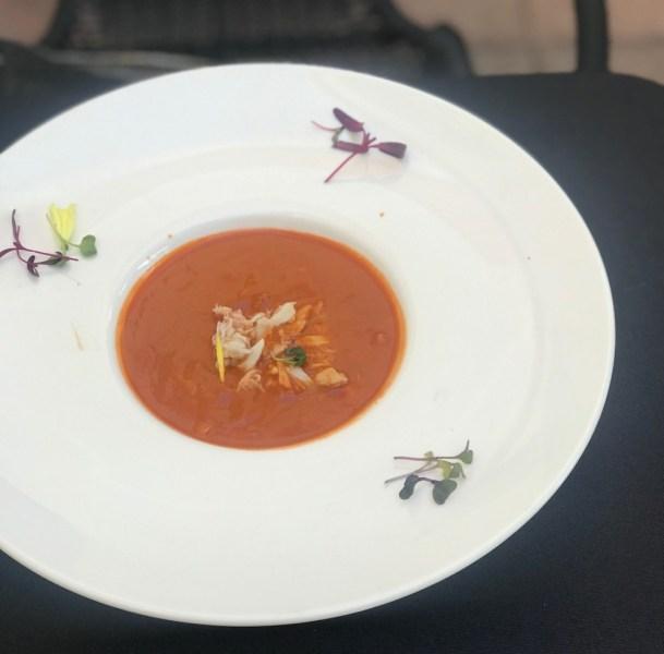 MoBu Fusion Cafe Boca Raton, Crab Bisque