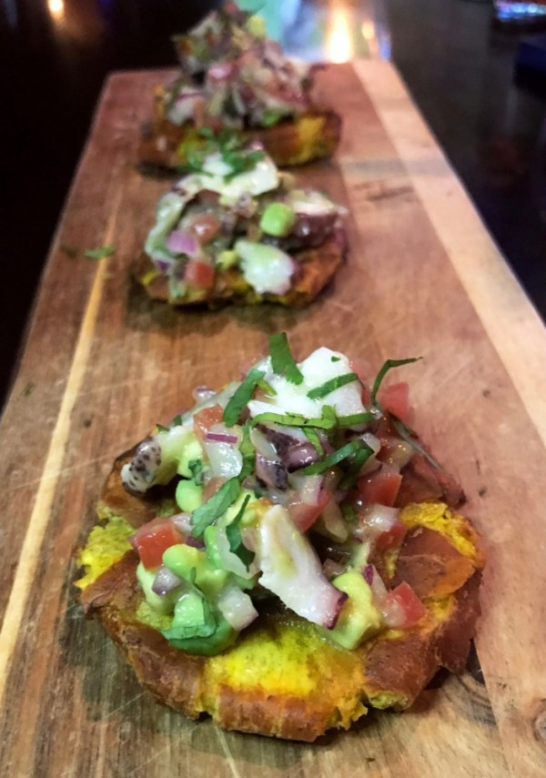 The Locale Boca Raton, Octopus Tostones
