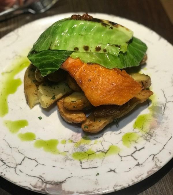 Tanzy Restaurant Boca Raton, Seared Salmon