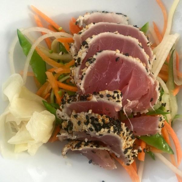 Max's Grille Boca Raton, Sesamed-Seared Tuna