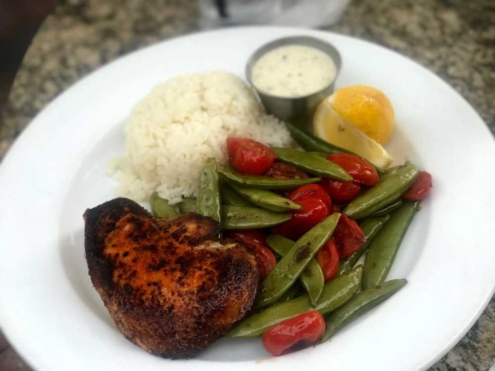 Max's Grille Boca Raton, Grilled Swordfish