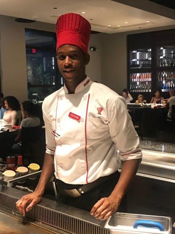 Benihana Boca Raton, Chef