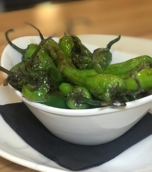Movie Bistro at Cinemark Boca Raton, Shishito Peppers