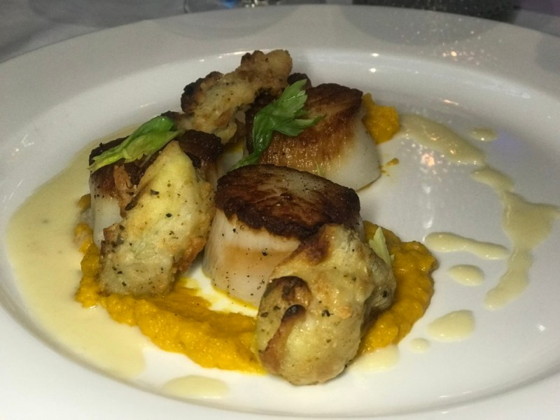 The Venu West Boynton Beach, Seared Scallops