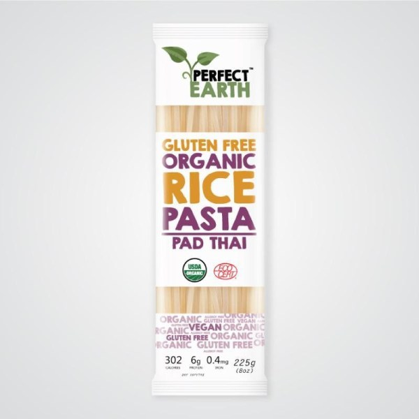 Perfect Earth Foods Organic Rice Pasta Pad Thai