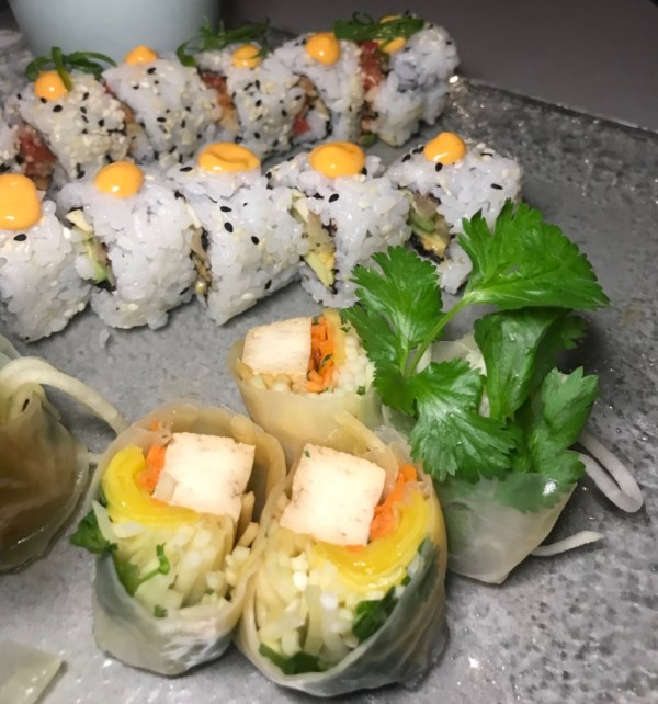 Planta South Beach, Vegan Sushi