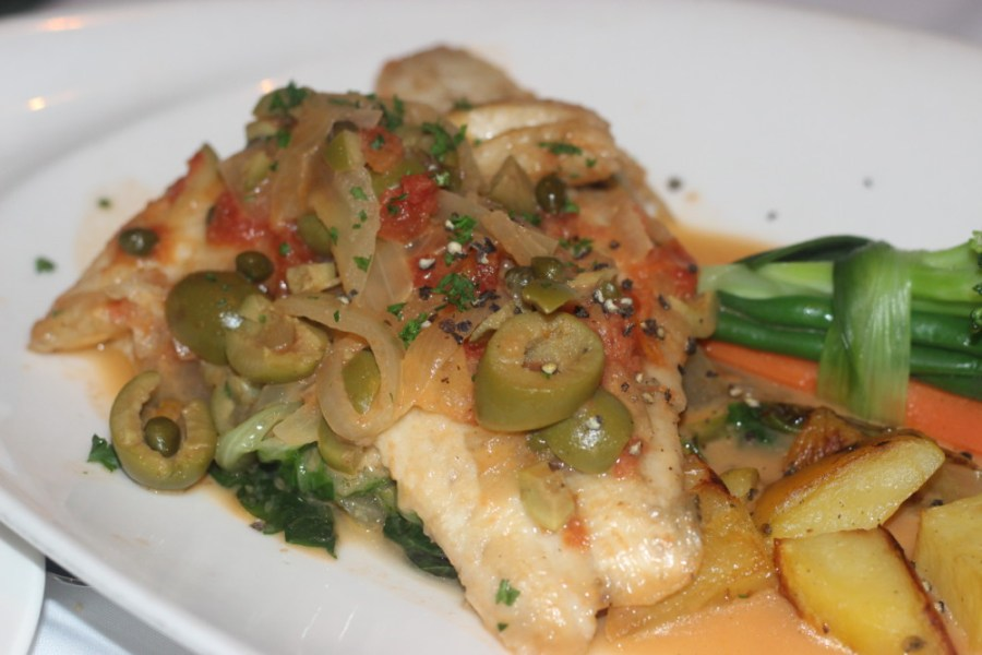 Paradiso Ristorante Lake Worth, Red Snapper