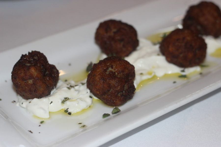 Oliv Pit Boca Raton, Lamb Meatballs