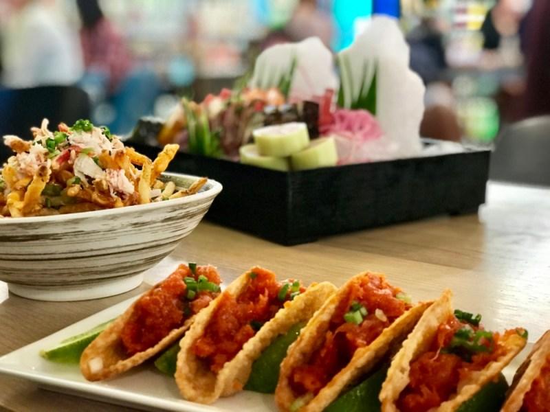 SushiMaki at Whole Foods Boca Raton, Spicy Tuna Tacos