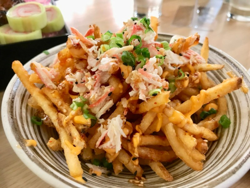 SushiMaki at Whole Foods Boca Raton, Volcano Fries
