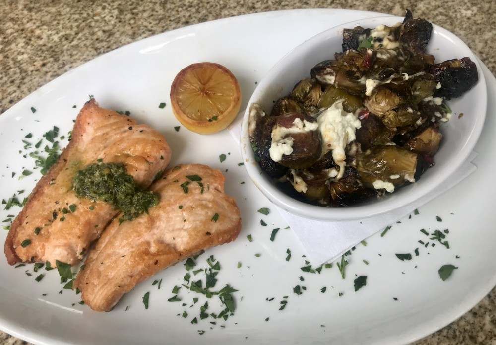 Prezzo Boca Raton, Pan-Seared Salmon