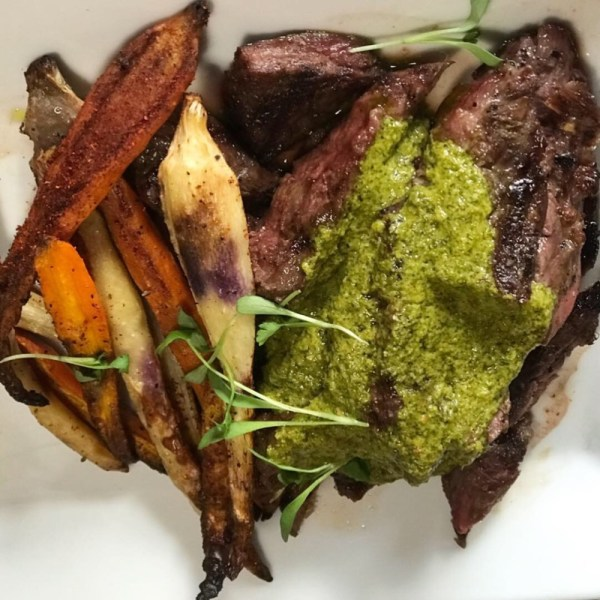 Crazy Uncle Mike's Boca, Steak and Chimichurri
