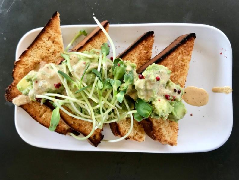 Green Bar & Kitchen Fort Lauderdale, Avocado Toast
