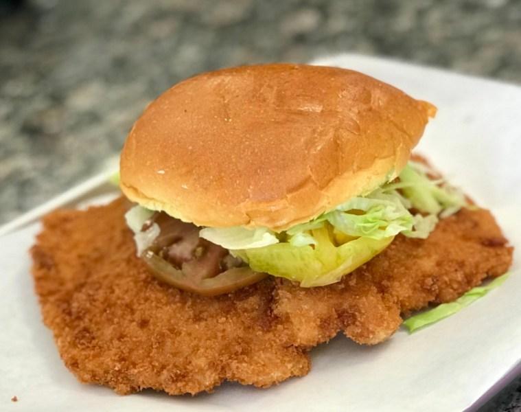 Stateside Sandwiches Boca Raton, Hooiser Pork Tenderloin Sandwich
