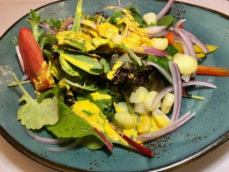 Warike Peruvian Bistro Boca Raton, Warike Salad