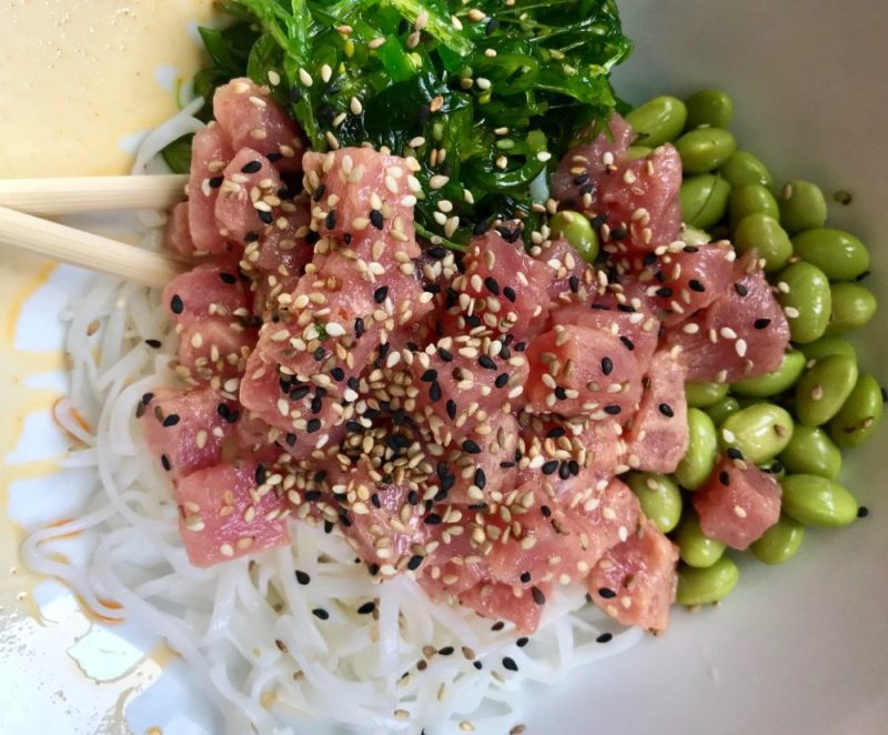 3rd and 3rd Delray Beach, Tuna Poke Bowl