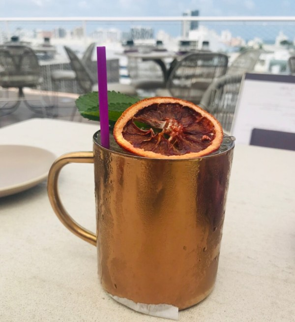 Juvia Miami Beach, Cocktail