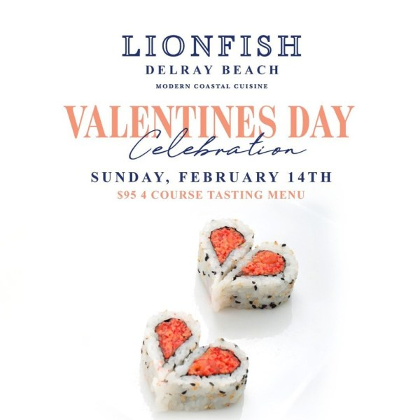 Lionfish Valentine's Day Dinner