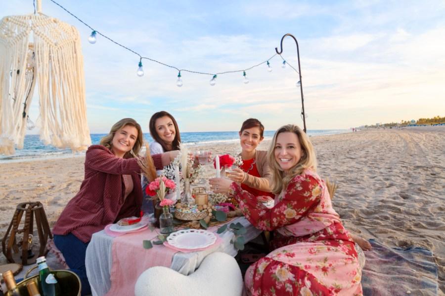 The Little Gatherings Beach Picnic
