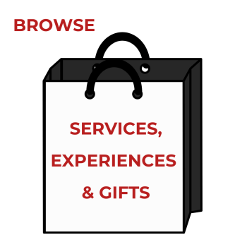 Browse Services, Experiences & Gift Items