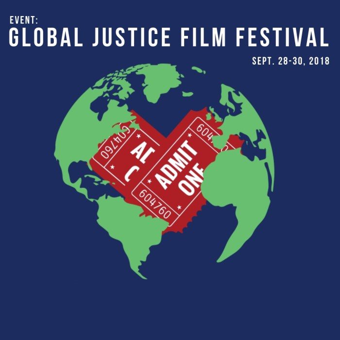 EVENT: Global Justice Film Festival