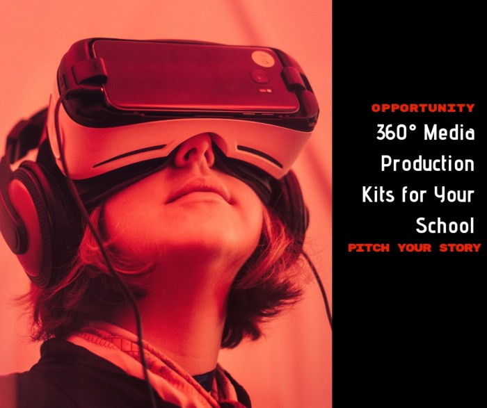 OPPORTUNITY: Pitch Your Story for a free 360° Media Production Kit for Your School