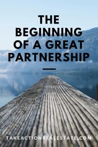 take action great partnership