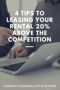 lease your rental higher than competition