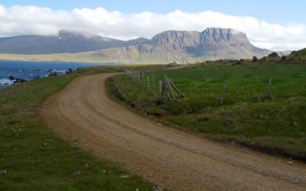 Northwest Iceland road