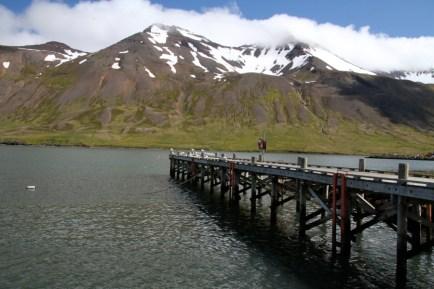 Dock in Sigulfjördur
