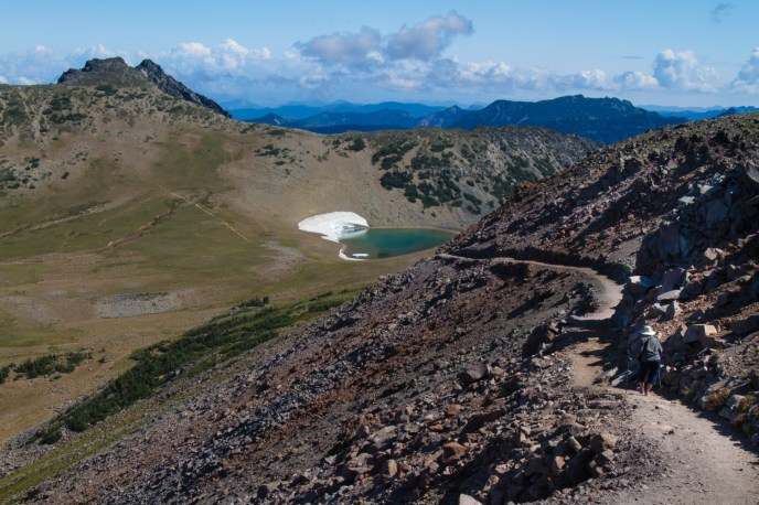 The Trail to Burroughs Mountain