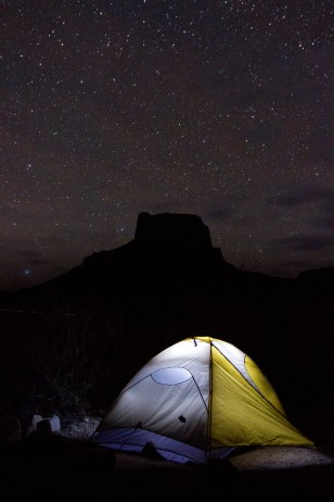 Camping Out under Casa Grande