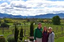 Stunning views of the Marlborough Wine Valley