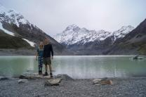 Hooker Valley Lake, Mt. Cook (day 6)