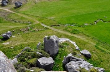 Spectacular limestone rocks