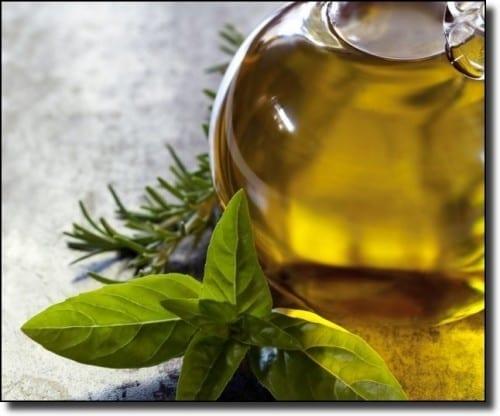 olive oil basil thyme
