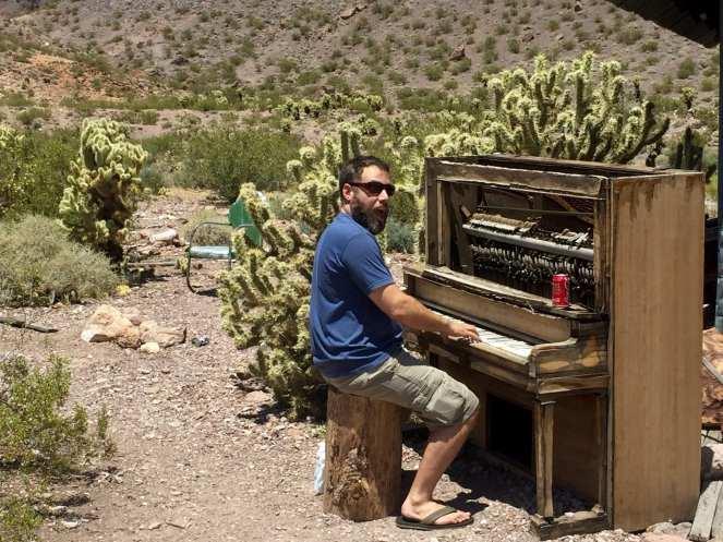Player Piano El Dorado Canyon Ghost Town just south of Las Vegas