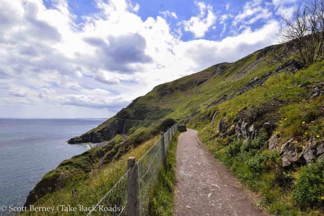 cliff walk Ireland Dublin Bray Greystones