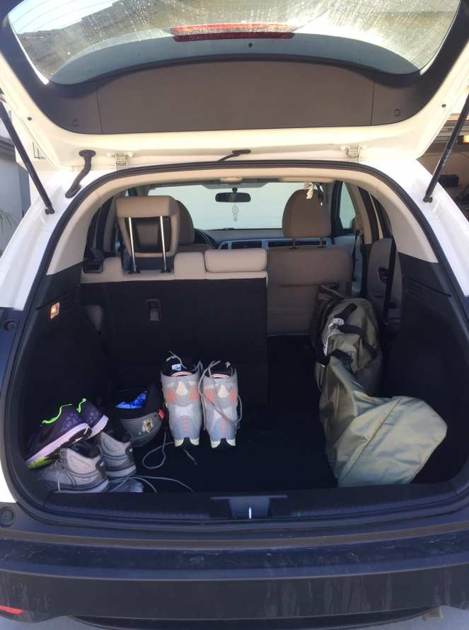 Plenty of cargo space for outdoor adventure gear in the Honda HR-V