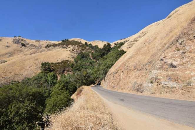 Blue sky Nacimiento-Fergusson Road Big Sur Pacific Coast Highway