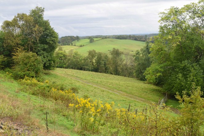 Rolling hills of Pennsylvania Farmland