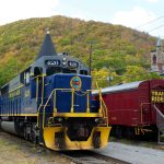 Scenic train ride lehigh valley pocono mountains