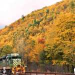Train Tours Fall Lehigh Gorge Scenic Railway Pocono Mountains