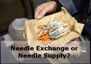 When is a needle exchange not a needle exchange?