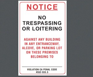 What is a Trespass Letter?  How will it be useful to me (your home AND business)?