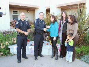 TBSC Donates to SCPD Memorial Garden