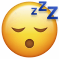 Emoji Schlafen